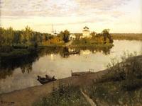 Экспозиции: Вечерний звон. 1892. Холст, масло