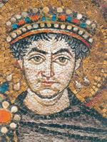 Копии древних мозаик в залах Мраморного дворца Русского музея.