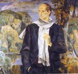 Коростелев П.Г. Портрет Н. Рубцова, 1986-1987 г.