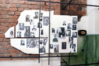 Постоянная экспозиция музея А.Ахматовой. Стена плача