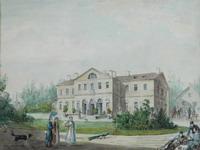 И.А.Иванов. Приютино. 1825 г. Акварель