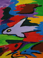 Выставка детского рисунка Композиция и цвет