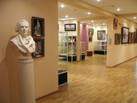 Выставочный зал памяти скульптора Ф.И. Шубина, (выставка Холмогорская резная кость и Сельская картинная галерея)