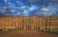 Экспозиции: Л. Лево, Ж. Ардуэн-Мансар. Дворец в Версале. Начало строительства 1668