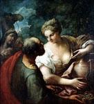 Тициан Вечеллио. 1485/90 - 1576. Ревекка у колодца