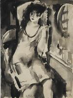 Рудаков К.И. Девушка у зеркала. 1929.