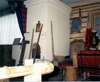 Экспозиции: Фрагмент экспозиции. Интерьер татарской  избы