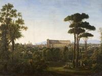 Вид Рима. Колизей. 1810-е