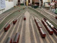 Экспозиции: Модель сортировочной станции