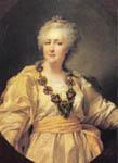 Экспозиции: Д.Г. Левицкий Этюд к портрету Екатерины II - Законодательницы, 1793
