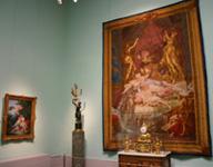 Экспозиции: Французское икусство первой половины XVIII века