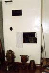 Фрагмент мемориальной кухни. Печь