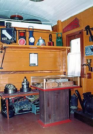 Экспозиции: Фрагмент экспозиции вагон-музея