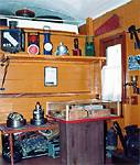 Фрагмент экспозиции вагон-музея