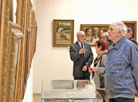 На выставке В.И. Андрушкевича. 2008