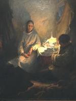 Выставка произведений Бориса Михайловича Неменского.