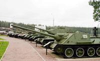 Танковый парк (фрагмент)