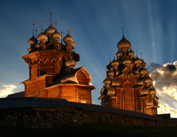 Фотовыставка Кижи над реальностью в Москве