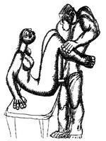 Графика Зураба Церетели Эротика.