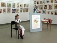 Открытие выставки Прелесть вышитой картины