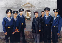Священные иконы на форте Поспелова (о.Русский), 2000