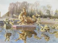 Шабурова - Фонтан Дракона, Версаль.