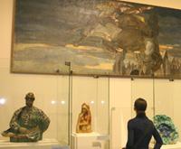 Экспозиция М. Врубеля. Русский символизм, который был показан в Бельгии, теперь в Третьяковской галерее