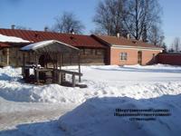 Внутренний двор Вырской почтовой станции