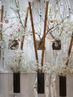 «Рассечение пространства» весенняя  выставка икэбана