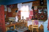 Обстановка комнаты родителей А.З. Валиди