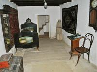 Интерьер дома, в котором жил писатель-декабрист Бестужев-Марлинский (1830-1834 гг.)