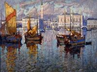 Горбатов Константин Иванович. Венеция.1931.