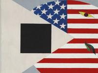 Павел Пепперштейн. «Американский кит и черный квадрат», 2008