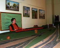 В Музее железнодорожного транспорта