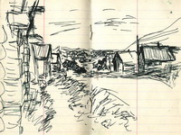 рисунки Иосифа Бродского