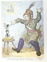 Дж.Крукшенк    Бони гасят как свечу. 1814г