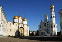 Успенский собор в ансамбле Московского Кремля