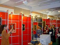 Вид выставочного зала. Фото А.Лебедева