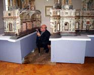 Модель Исаакиевского собора. Проект А. Ринальди