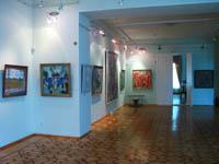 Фрагмент экспозиции русского искусства