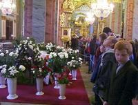 Петропавловский собор. У могилы Марии Федоровны