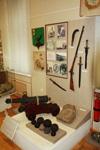 Фрагмент экспозиции Историческое прошлое Ямбургского края