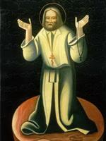 Геннадий Павлов - Преподобный Серафим Саровский,  молящийся на камне