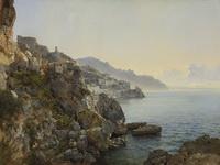 Щедрин С.Ф. Вид Амальфи. 1827-1828. Холст, масло