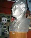 Фрагмент экспозиции. Бюст П. Хузангая