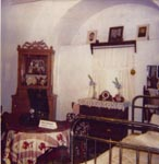 Интерьер комнаты 1950-х годов