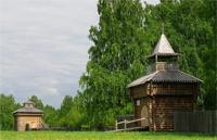 Реконструкция сибирского острога в музее-заповеднике Тюльберский городок