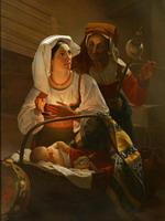Я.Ф. Капков (1816-1854) Итальянская семья. Середина XIX в.