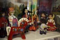 Фрагмент выставки Семь ролей куклы