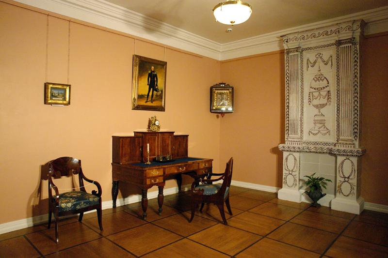 Экспозиции: Кабинет Н.И. Васильчикова
